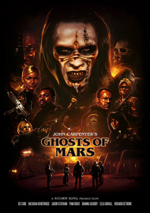Ghosts of Mars 2001 BRRip Dual Audio Hindi English 720p ESub