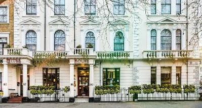 Fachada del Hotel Mitre House donde me hospedé en dos de las ocasiones que visité Londres