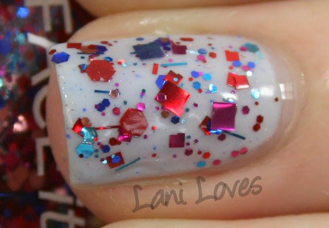 The Face Shop Face It CMX325 Flash Flash nail polish swatch