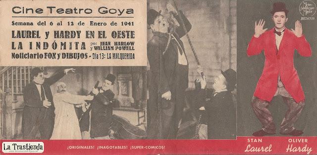 Programa de Cine - Laurel y Hardy en el Oeste (Doble) - Stan Laurel - Oliver Hardy