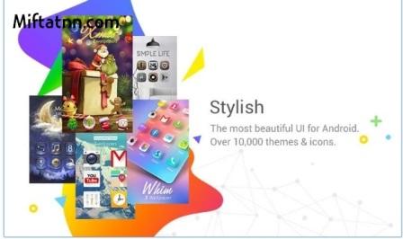 Aplikasi Tema Android Terkeren GO Launcher EX Apk Terbaru