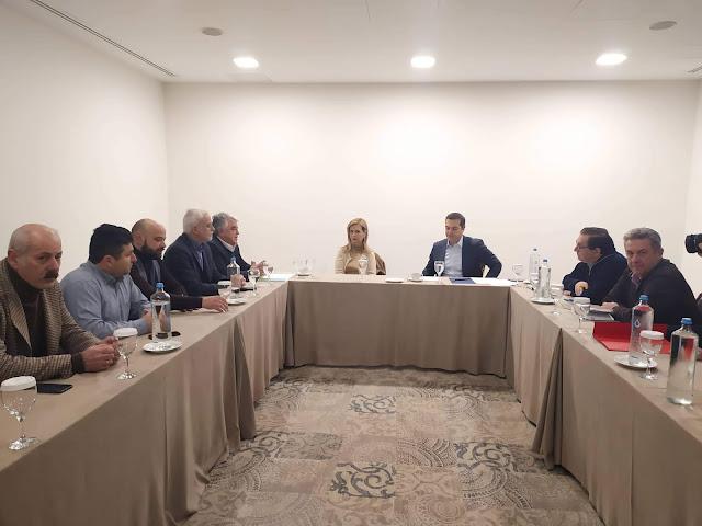 Γιάννενα: Επίσκεψη χθες του  Αλ.Τσίπρα στο Επιμελητήριο Ιωαννίνων