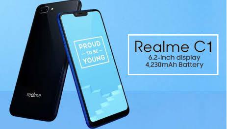 Cara flash Oppo Realme C1 Realme RMX1811