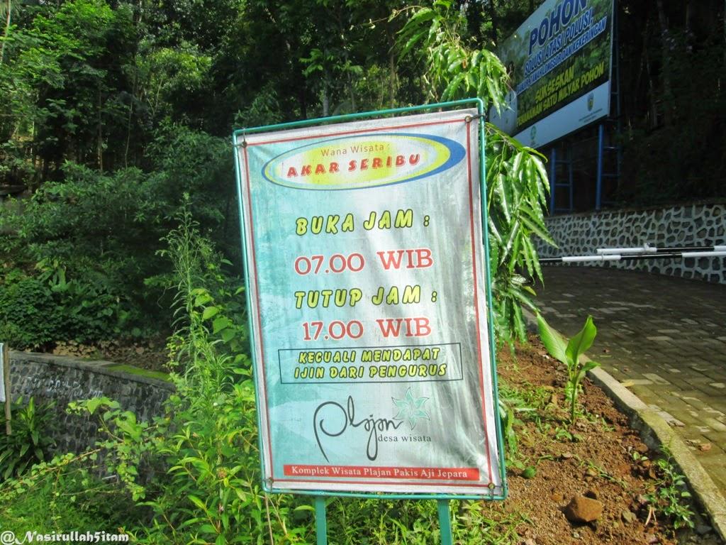 Waktunya tracking di Akar Seribu