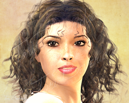 Portrait of Beth by Tori Beveridge