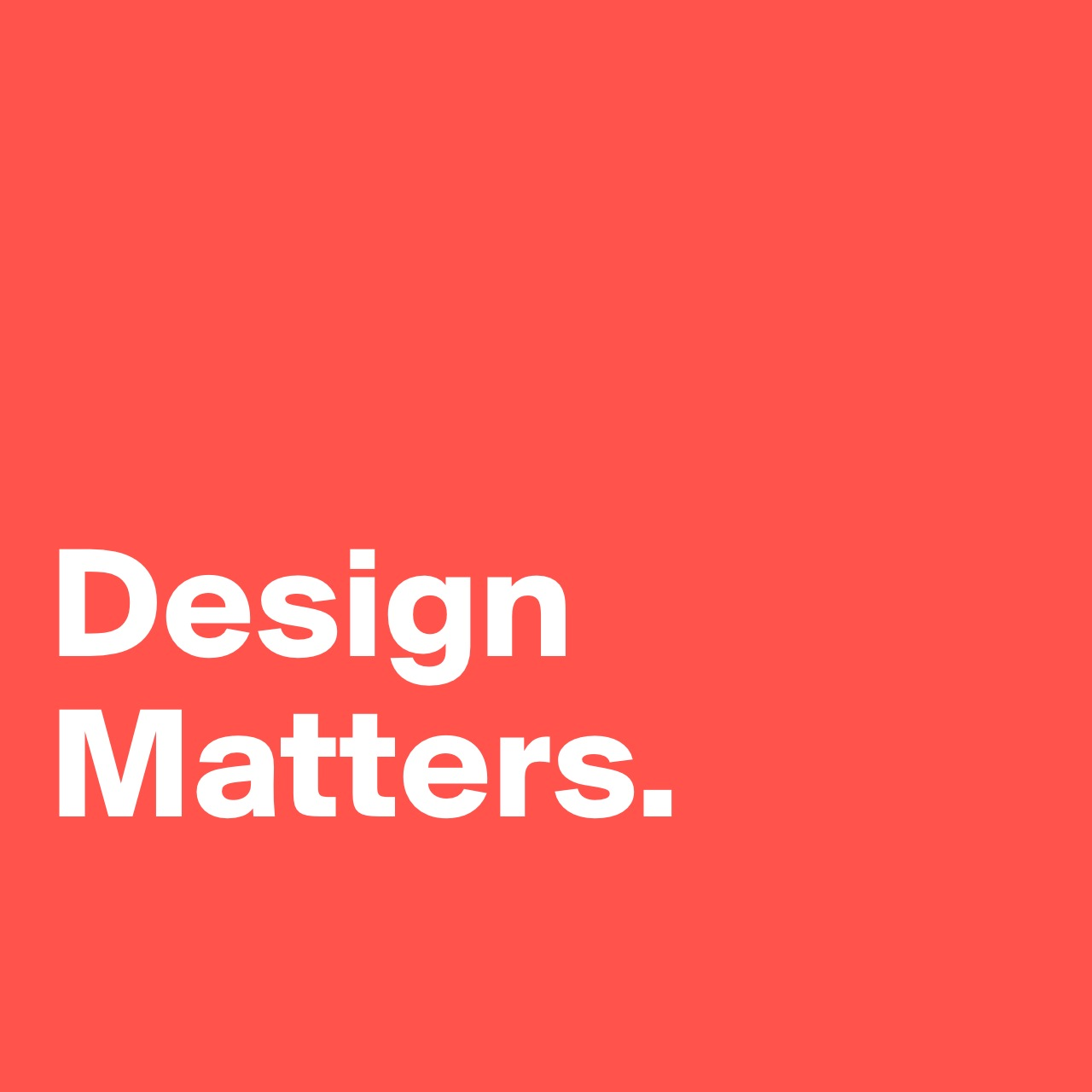 Design Matters, The Red Rabbit Studio