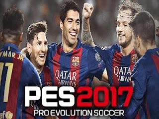 تحميل لعبة بيس 2017 للكمبيوتر PES 2017  المجانية