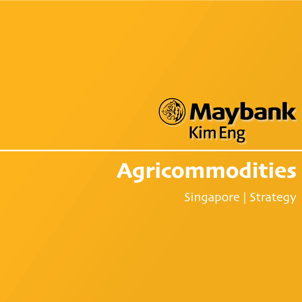 Agricommodities Sector - Maybank Kim Eng Research   SGinvestors.io