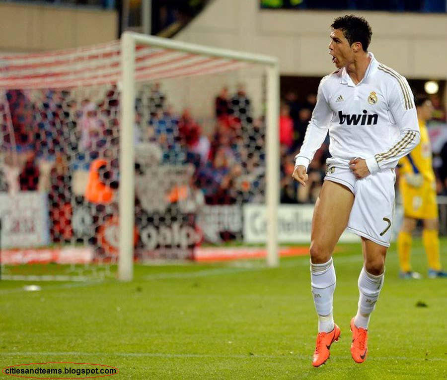 Cristiano Ronaldo Goal Celebration With His Leg ~ C.a.T
