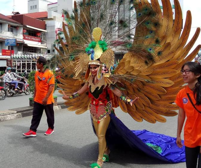 Hari Jadi Pontianak yang ke 245, Peserta Festival Bawakan Tema Flora dan Fauna
