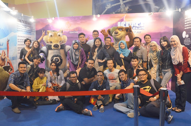 Adventure Spacetastic ICE AGE Di Resorts World Genting