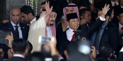 Foto Raja Salman yang Bikin Heboh Netizen di Indonesia