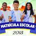 EDUCAÇÃO / Matricula 2018 da rede estadual de ensino da Bahia será realizada de 16 a 23 de janeiro
