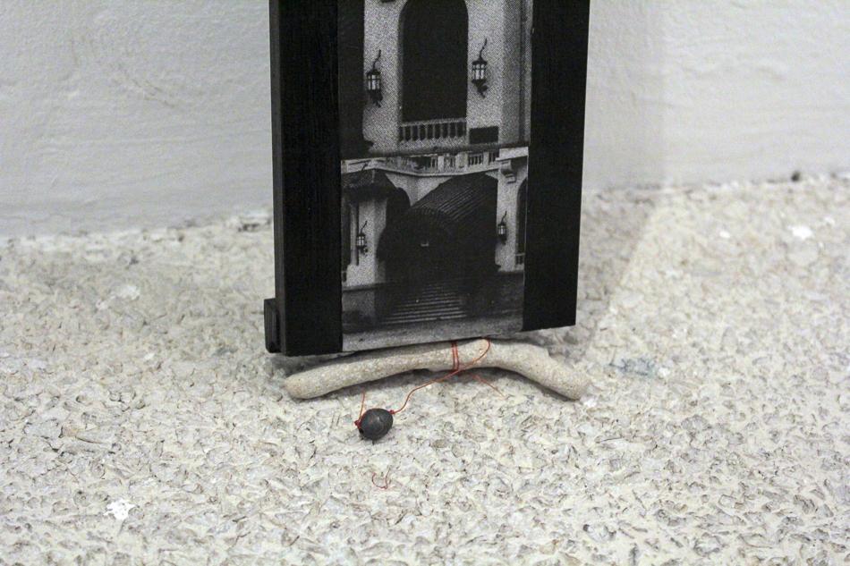 De la serie Situacion de peso realizada con fotografias del hotel Miramar