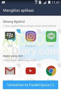 membuat akun bergkamu dalam satu ponsel Android Cara Memasang 2 Aplikasi Yang Sama Dalam 1 Ponsel Android