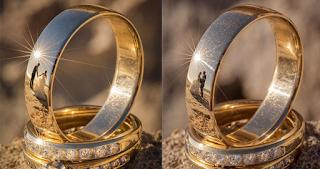 Αυτοδίδακτος φωτογράφος βρήκε ένα μοναδικό τρόπο για να βγάλει φωτογραφίες γάμου