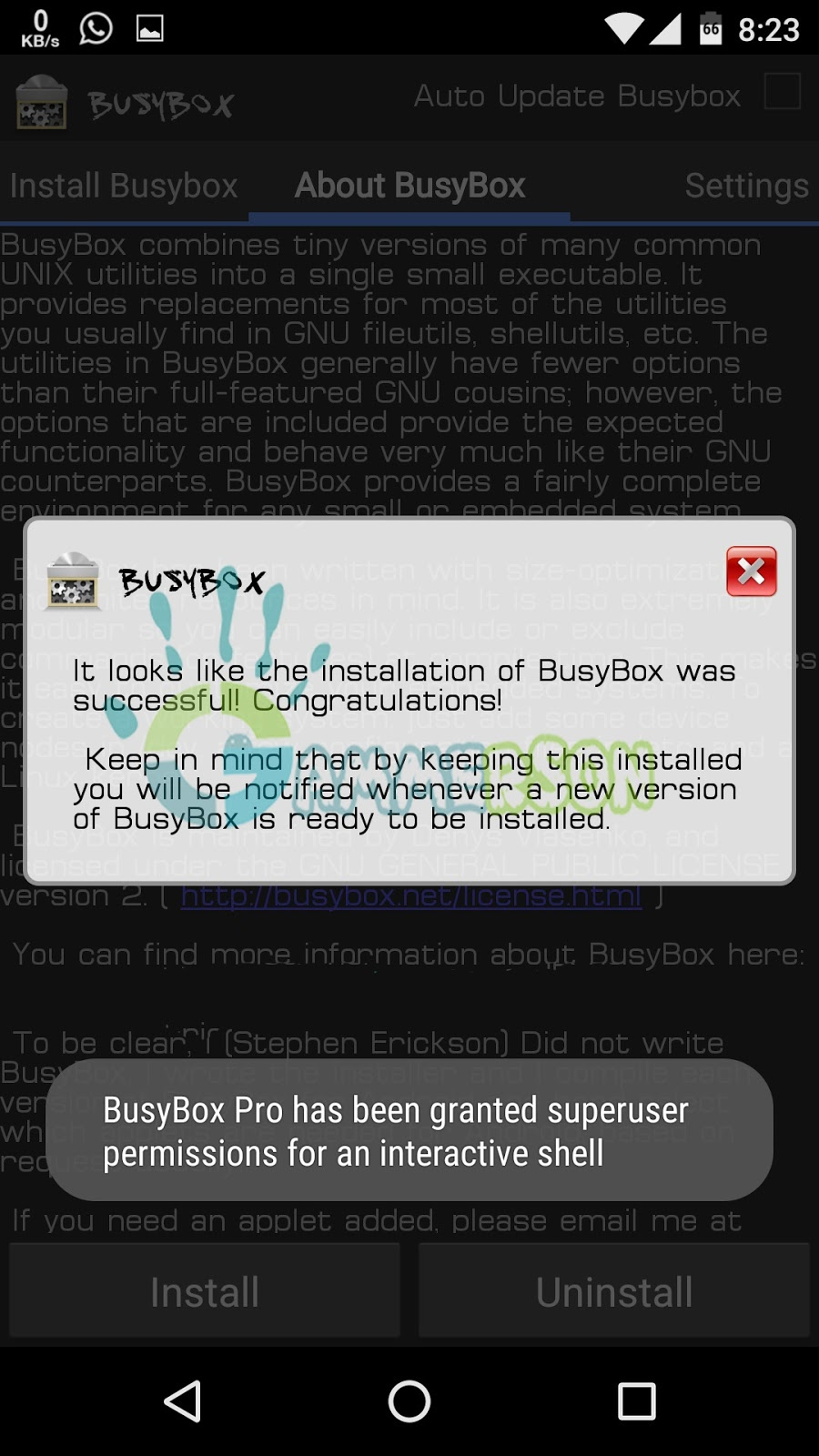 and install busybox pro in marshmallow 6 0 root