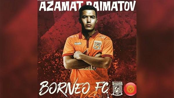 Borneo FC Datangkan Kapten Timnas Kyrgyzstan