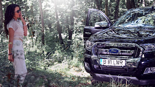 Ford Ranger 2017 drive test & review & shooting foto