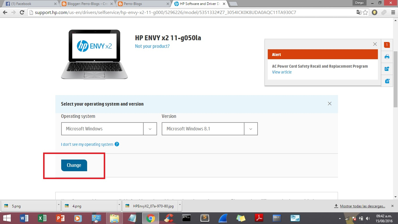 HP ENVY X2 11-G050LA UEFI DESCARGAR DRIVER