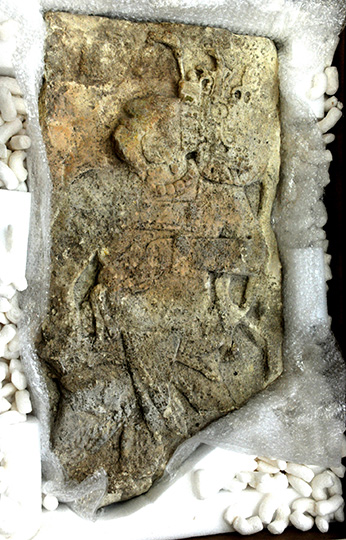 US returns looted fragment of Mayan stela to Mexico