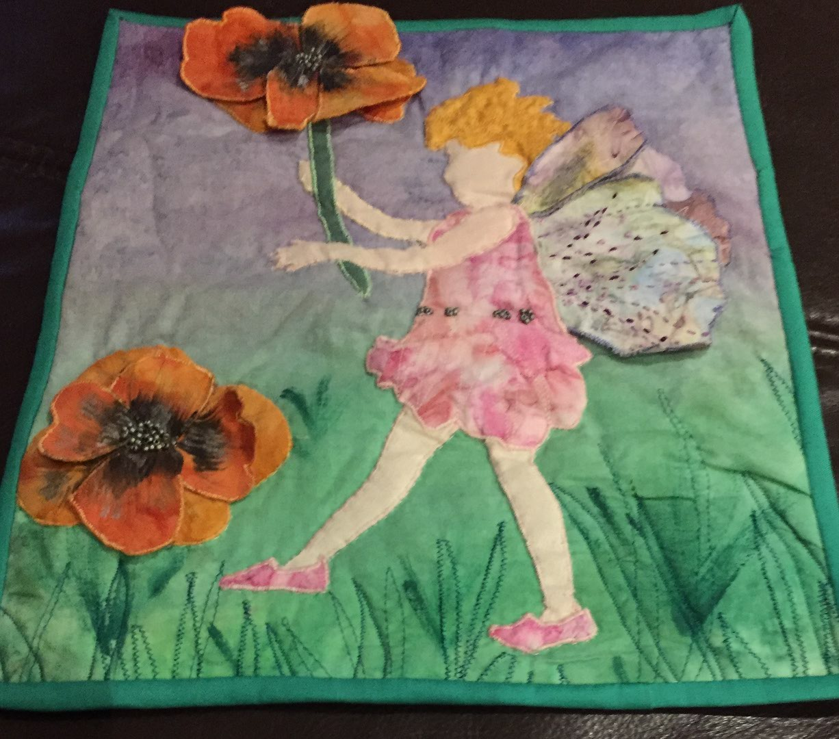 Midget Gem Quilts My Fairy Is Off On Her Travels