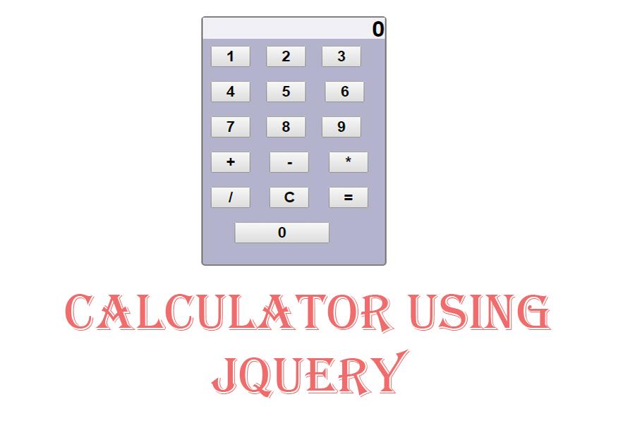 Jquery Calculator