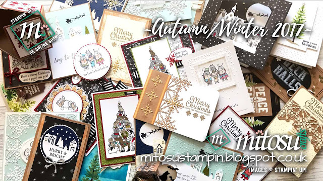 Autumn/Winter 2017 Stampin' Up! Products order from Mitosu Crafts UK Online Shop