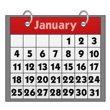 2020行事曆-人事行政局109年行事曆