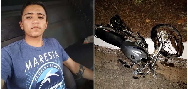 Colisão entre motocicleta e carreta deixa jovem morto e um gravemente ferido em acidente no Piauí