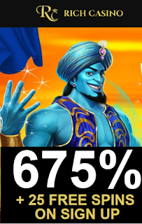 Rich Casino | 675% Welcome Bonus Pack and 25 Free Spins