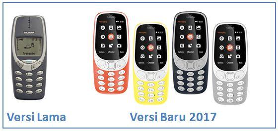 Nokia 3310 Kembali Dirilis