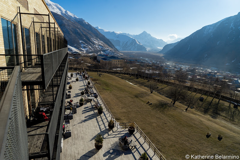 Rooms Hotel Kazbegi Balcony View and Patio Review