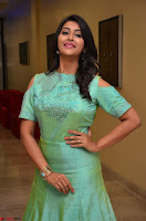 Pooja Jhaveri in Beautiful Green Dress at Kalamandir Foundation 7th anniversary Celebrations ~  Actress Galleries 047.JPG