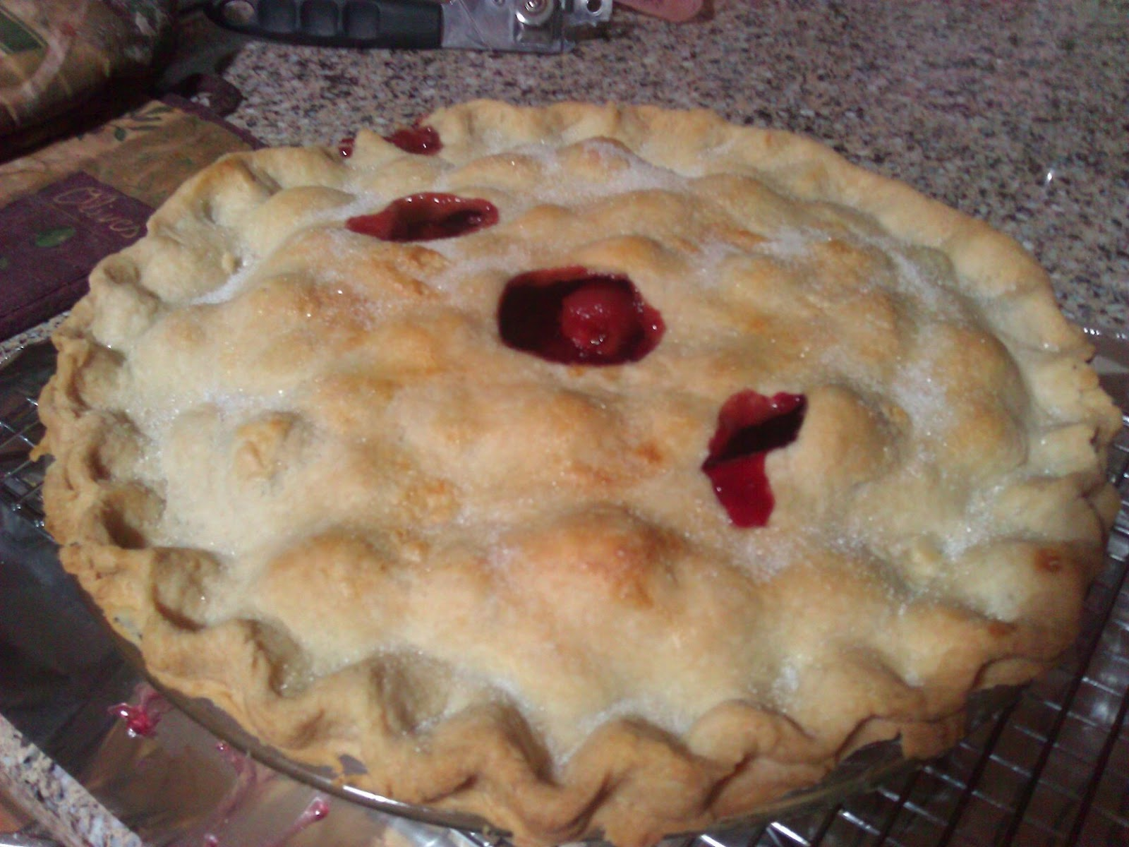 If I had anything to say...: Can she make a cherry pie?