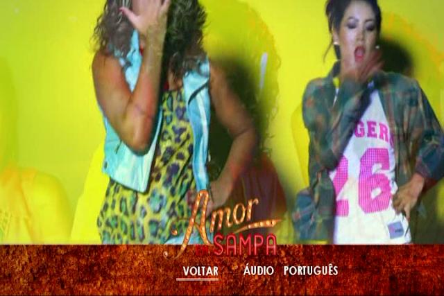 Amor em Sampa DVD-R