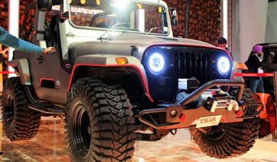 Mahindra Thar Daybreak Edition front bumper