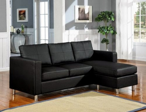 apartment size sectional with recliner sofa leather pieces chaise