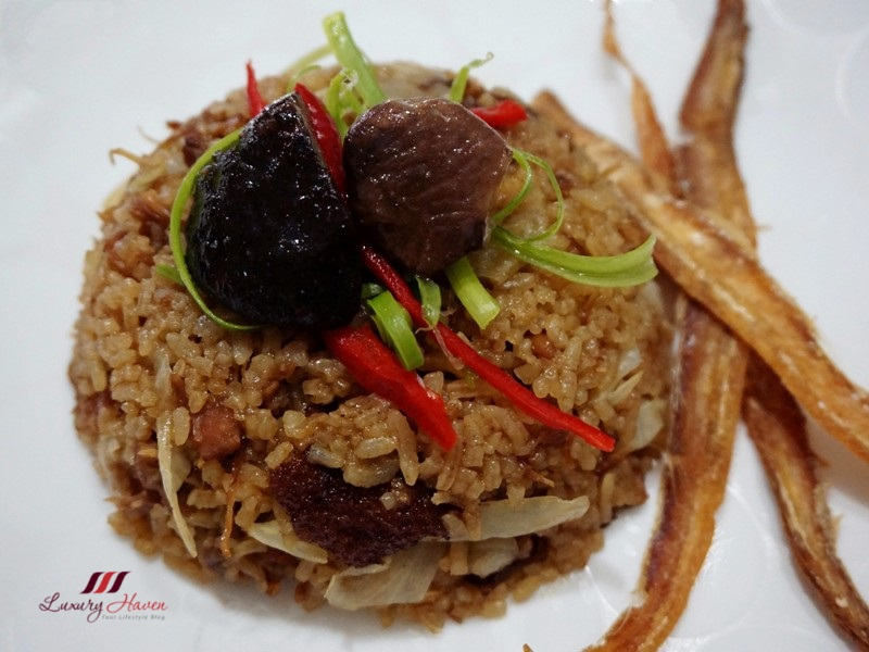 narcissus pork leg rice with dried fish recipe