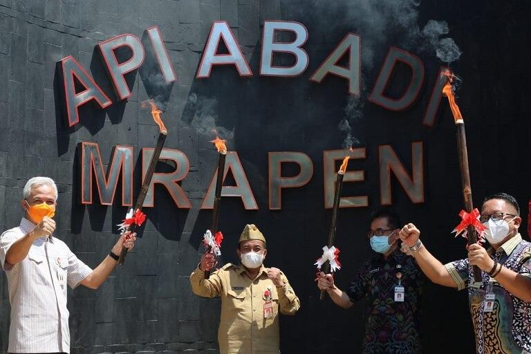 Api abadi yang ada di Indonesia - Foto Dokumentasi Genpi Jateng