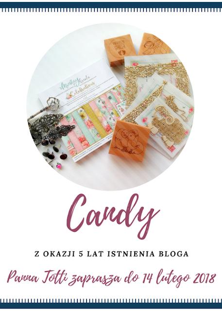 Candy na 5 urodziny bloga