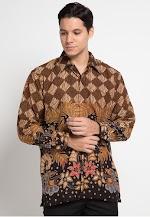 Kemeja Batik Print