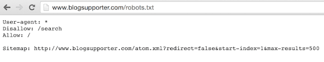 Custom Robots.text File Live