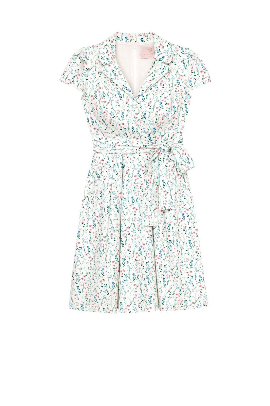 80e9536fe4ed The Anne is a wrap dress with a notched collar--an unusual and adorable  combination! This isn't a very popular modern combination but there are  lots and ...