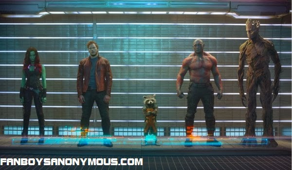 Marvel Studios Guardians of the Galaxy James Gunn sci-fi fantasy adaptation in cinemas 1st August