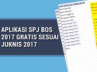 Aplikasi SPJ BOS  2017 Gratis Sesuai Juknis 2017