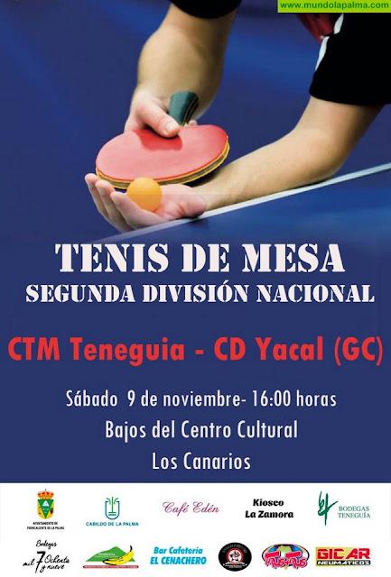 El CTM Teneguia se enfrenta al CD Yacal, de Gran Canaria