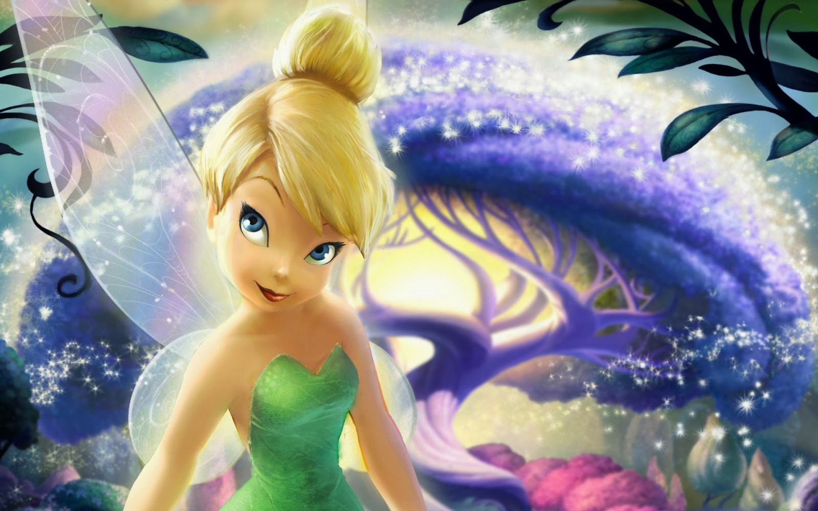 WALLPAPER ANDROID - IPHONE: Wallpaper Tinkerbell