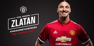 Daftar Pemain Manchester United di Liga Champions, Zlatan Ibrahimovic Masuk