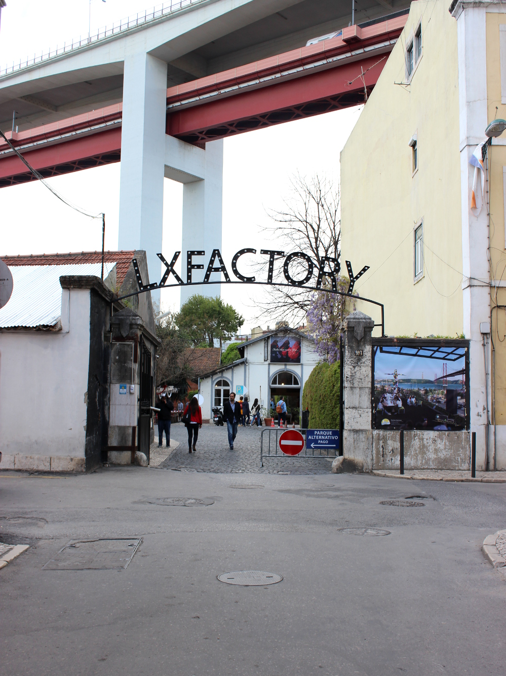 Lissabon Lisbon Lisboa Travel Diary Reise Bericht Tipps LX Factory Entrance